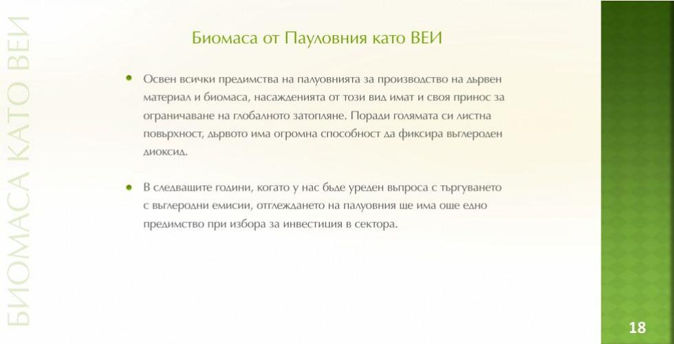 Пауловния – зеленото енергийно бъдеще - стр.18